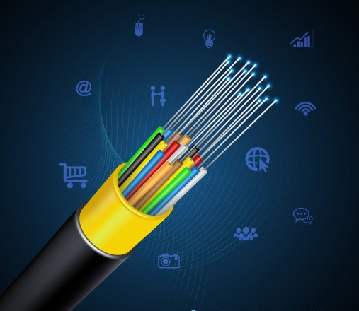 concept de connexion de cable a fibre optique 66219 1677