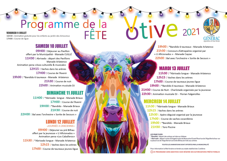 Calendrier Fete Votive 2022 Herault Fêtes votives dans le Gard. Fêtes de village 2021