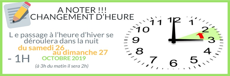 HEURE DHIVER 2019 2
