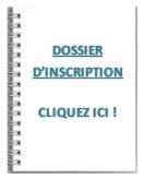 Cahier inscription