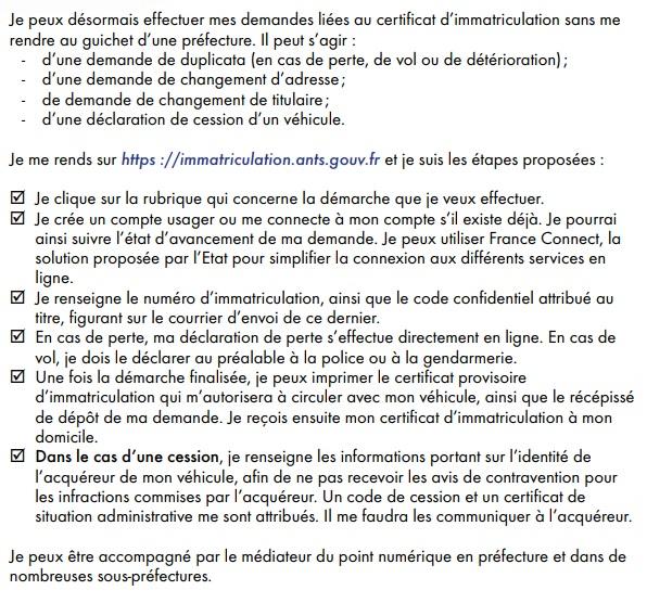 Immatriculation 2