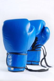 blue boxing gloves 1434861 340